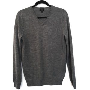 J. Crew Sweaters - [J.CREW] Merino Wool Slim V Neck Sweater Size S